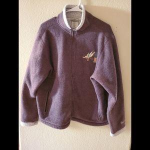 Vintage Disneyland Tinker Bell Zip Hoodie Sweater